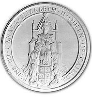 Great Seal of Canada - Queen Elizabeth II