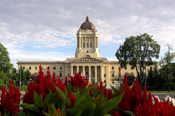 Manitoba Legislative Building By Vlastula on Flickr