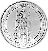 Great Seal of Canada - Queen Elizabeth II