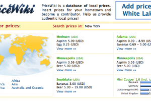 PriceWiki: What is the cost of living in Canada?