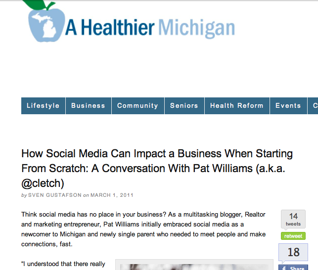 Starting a Business from scratch using social media - ahealthiermichigan.org