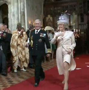 Charles & Camilla Royal Wedding spoof