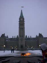 Capital Building in Ottawa January 2003