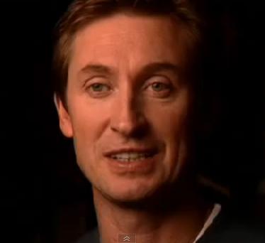 Canadian Wayne Gretzky