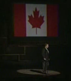 William Shatner I Am Canadian parody