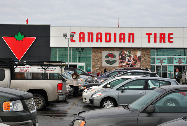 Canadian Tire Store by caribb on Flickr