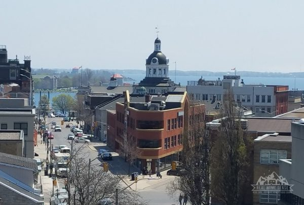 Kingston, Ontario - view of downtown