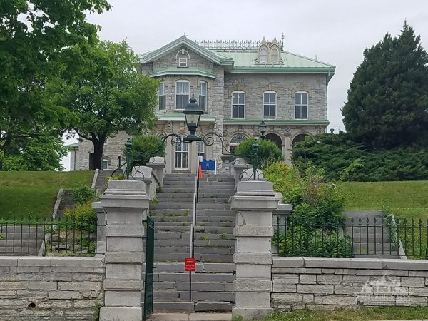 Kingston's Penitentiary Museum is built with Limestone.