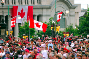 History of Canada Day Celebrations
