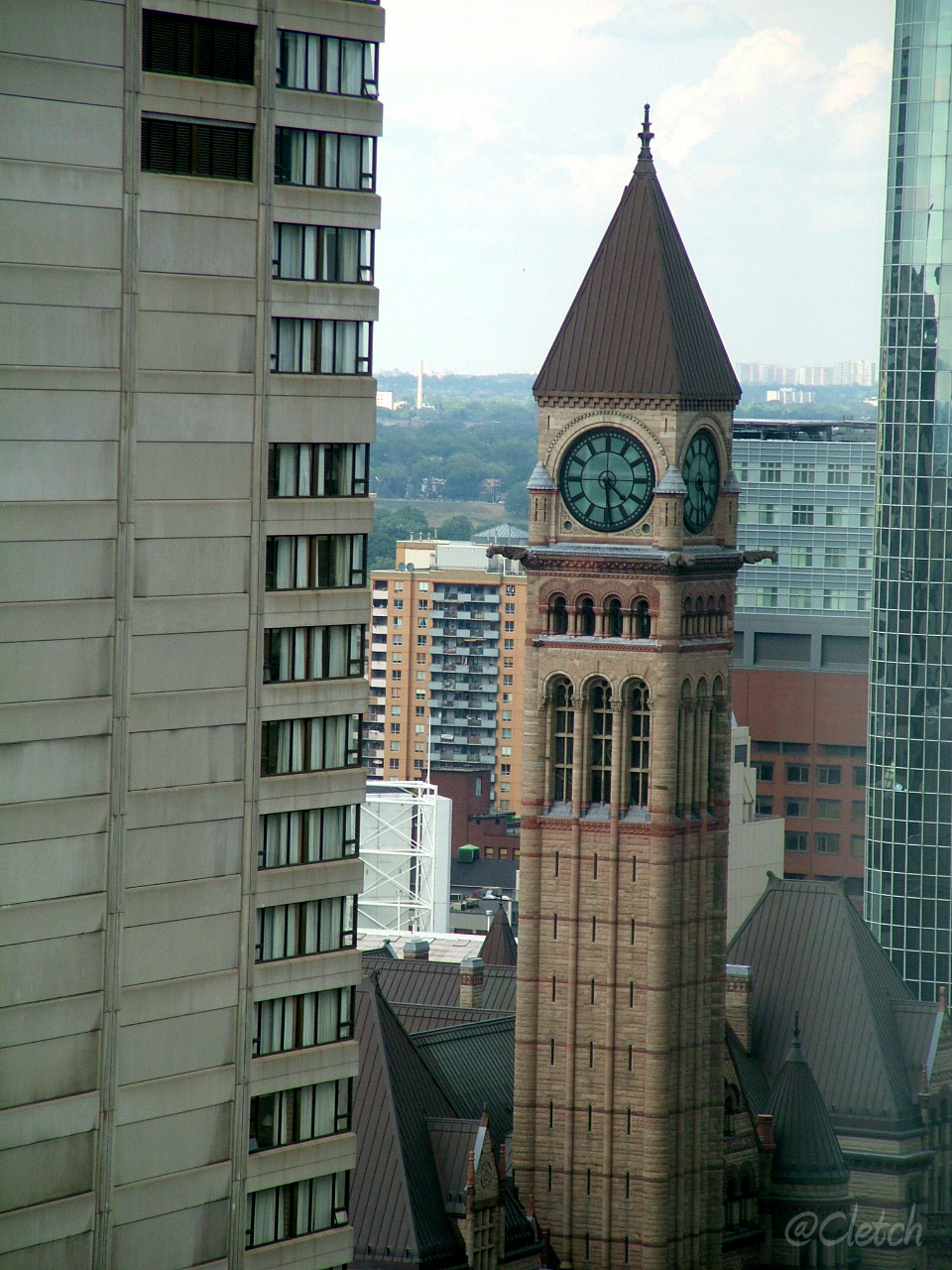 Toronto Courthouse Clock Tower