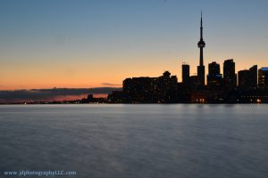 Toronto Skyline from Port Lands