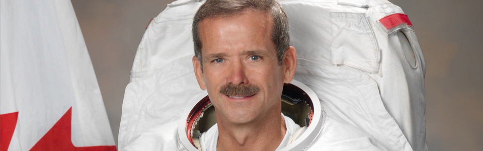 Commander Chris Hadfield NASA