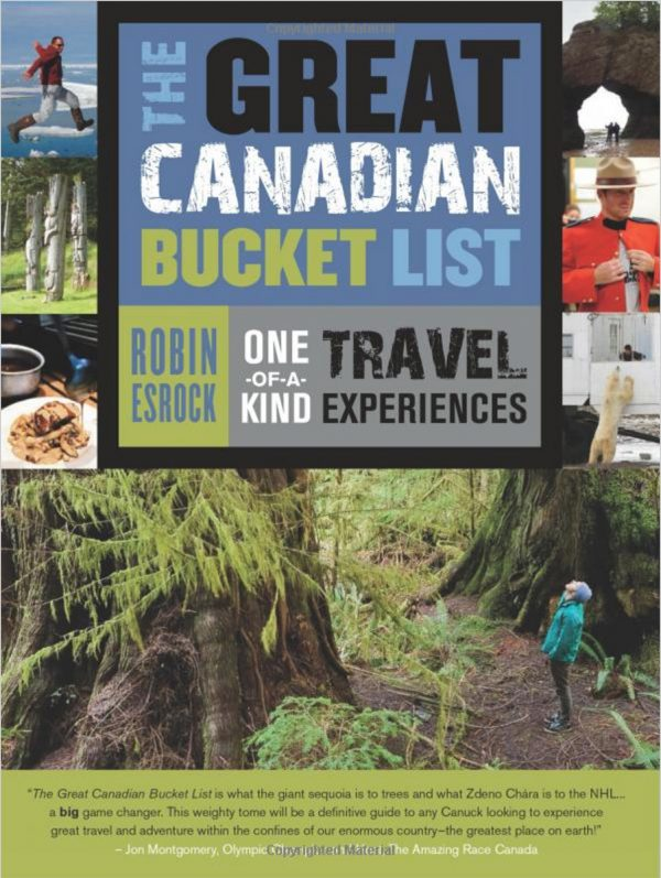 The Great Canadian Bucket List Book Cover